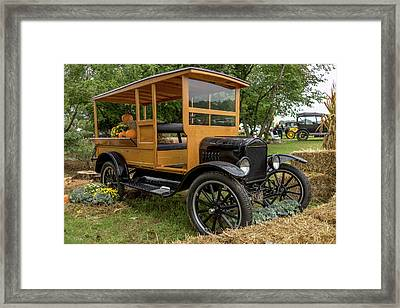 The Model T Pickup Framed Print by Capt Gerry Hare