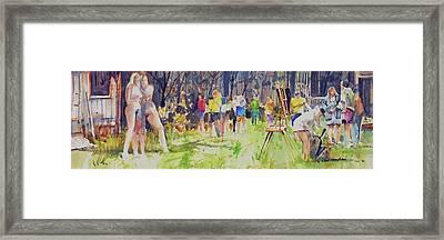 The Models  Framed Print