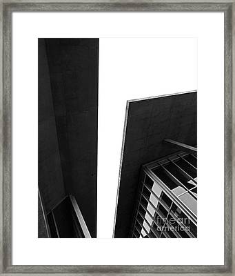 The Modern Framed Print by Slade Roberts