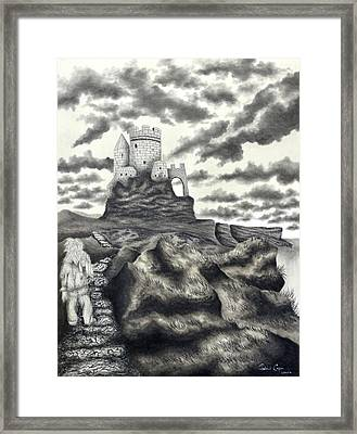 The Moher Giant Framed Print by Gabriel Cajina