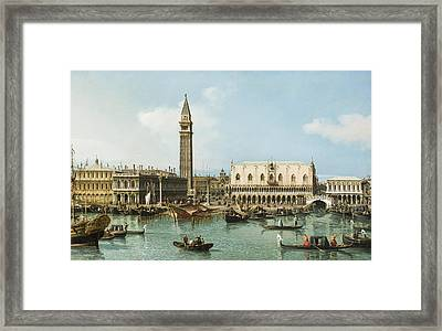 The Molo From The Basin Framed Print by MotionAge Designs