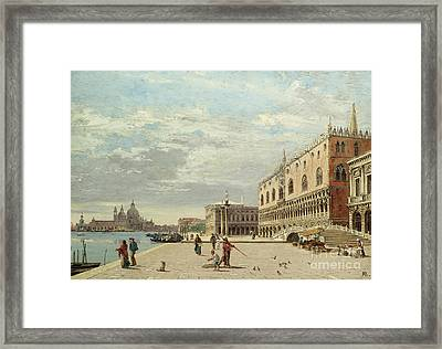 The Molo Venice Framed Print by MotionAge Designs