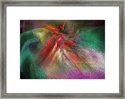 The Moment I Met You Framed Print by Michael Durst