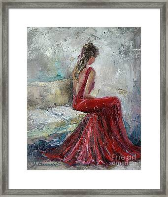 The Moment Framed Print