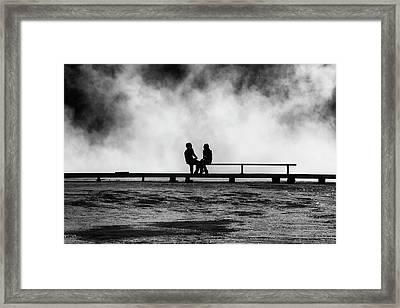 The Moment Framed Print by Mark Kiver