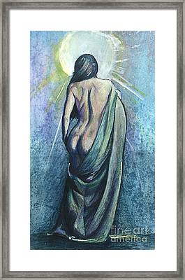 The Moment Of Enlightenment Framed Print by Michael Volpicelli