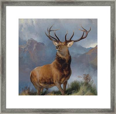 The Monarch Of The Glen Framed Print