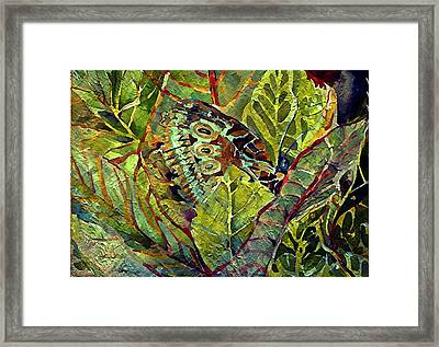 The Monarchy Framed Print by Mindy Newman