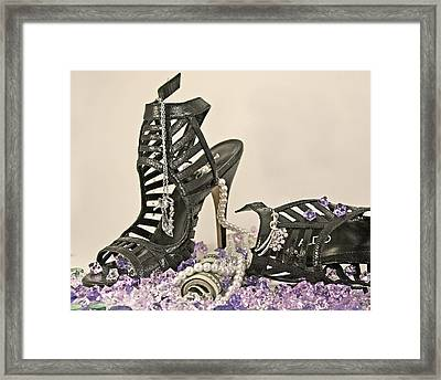 The Money Shoe Framed Print