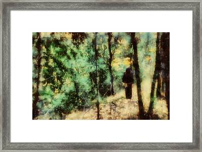 The Monk Framed Print by Esoterica Art Agency