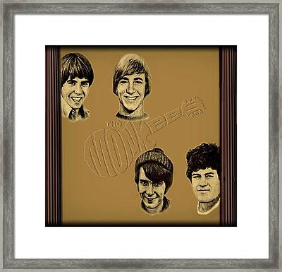 The Monkees  Framed Print