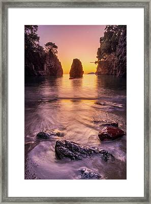 The Monolith Framed Print