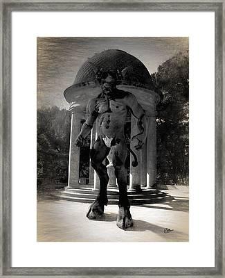 The Monster Maze Framed Print by Joaquin Abella