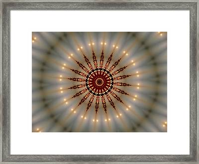 The Moon Across Pearl Lake Framed Print