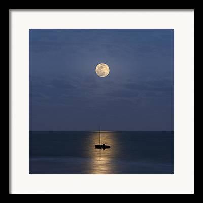 Moonlit Scenes Framed Prints