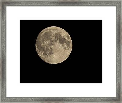 The Moon Framed Print by Thomas Young