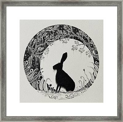 The Moongazer Framed Print by Jamie Patterson