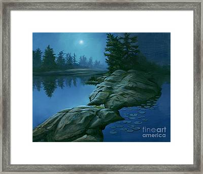 The Moonlight Hour Framed Print by Michael Swanson