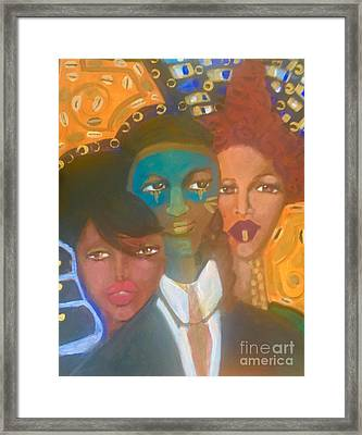 The Moor In Paris Framed Print by Esther Yulfo
