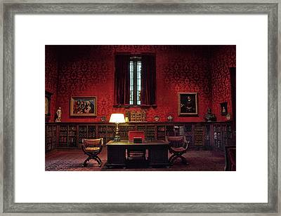 Framed Print featuring the photograph The Morgan Library Study by Jessica Jenney