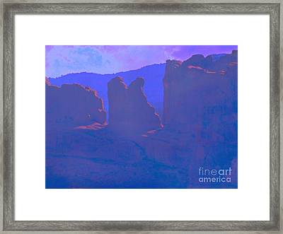 The Morners Framed Print by Annie Gibbons