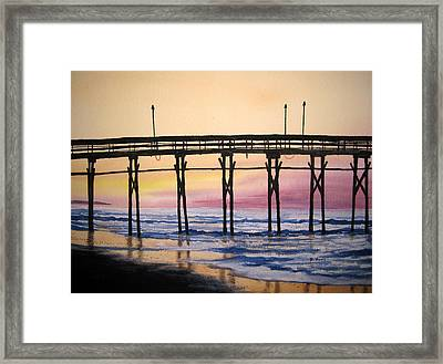 The Morning After Framed Print