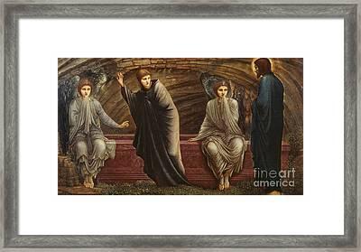 The Morning Of The Resurrection Framed Print