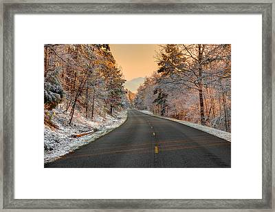 The  Morning Shines Framed Print