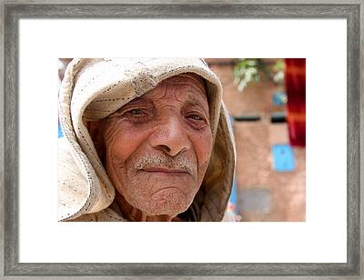 The Moroccan Man Framed Print by Jason Hochman