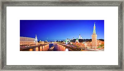 Moskva River Framed Print by Delphimages Photo Creations