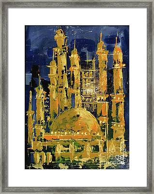 The Mosque-3 Framed Print