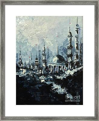 The Mosque Framed Print