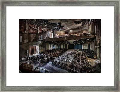 The Mosquito Theatre Framed Print by David Van Bael