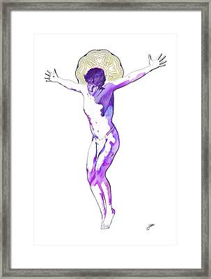 The Most Desired Man Of All Time Framed Print by Joaquin Abella