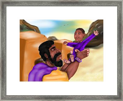 The Most High's Day Framed Print