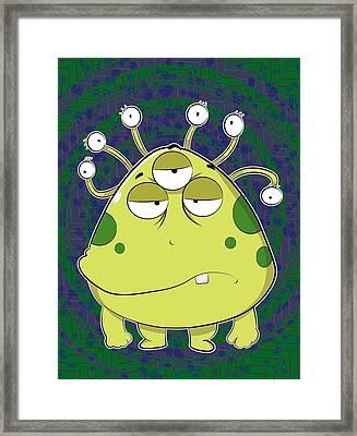 The Most Ugly Alien Ever Framed Print