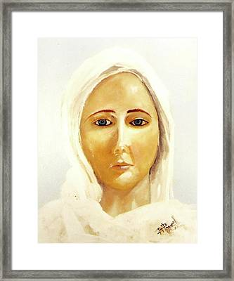 The Mother Mary Framed Print