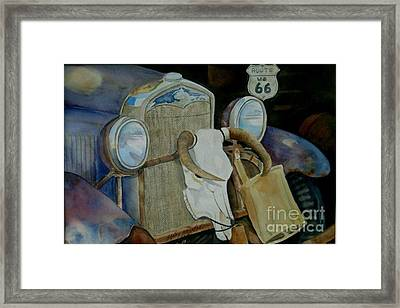 The Mother Road Framed Print