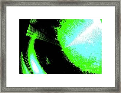 Framed Print featuring the photograph The Motion Of Energy- The Ripples We Make by Jesse Ciazza