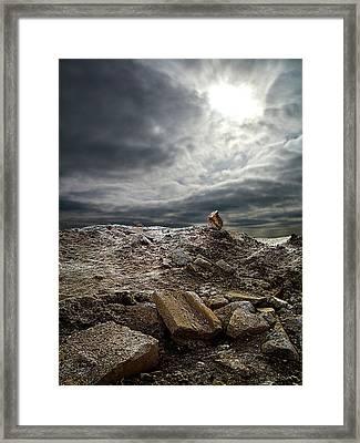 The Mount Framed Print by Phil Koch
