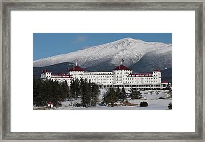 The Mount Washington Hotel Framed Print