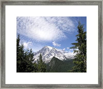 The Mountain  Mt Rainier  Washington Framed Print