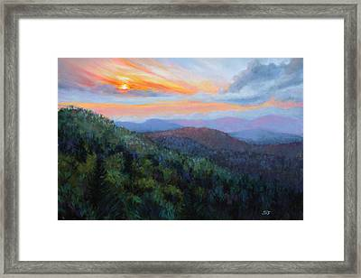 The Mountain Queen Page 11 Framed Print by Susan Jenkins