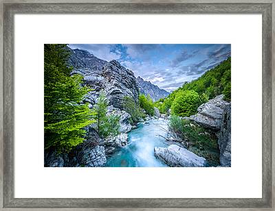 The Mountain Spring Framed Print
