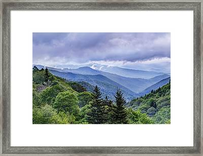 The Mountains Of Great Smoky Mountains National Park Framed Print