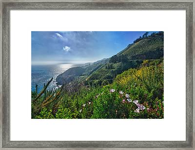 The Mountains Of Highway Nr. 1 - California Framed Print