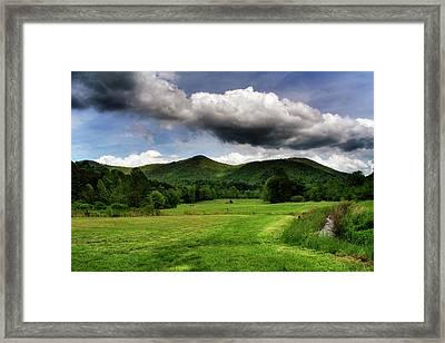 The Mountains Of Western North Carolina Framed Print by Greg Mimbs