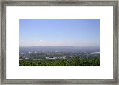 The Mountains View II Framed Print by Daniel Henning