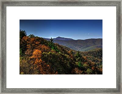 The Mountains Win Again Framed Print