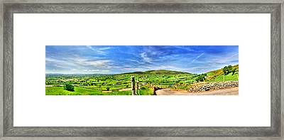 The Mournes Far And Wide Framed Print by Kim Shatwell-Irishphotographer